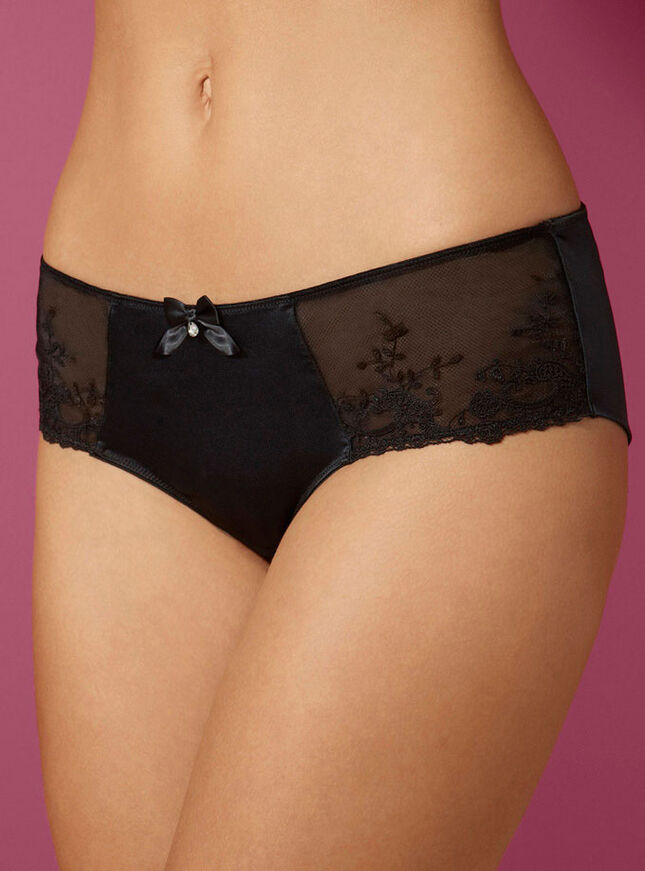 Angelina satin briefs