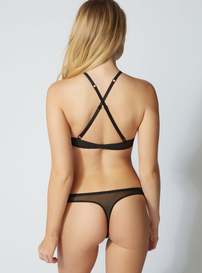 Bianka mesh thong