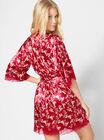 Amber blossom robe