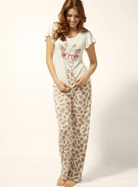 Sunglasses giraffe pyjamas