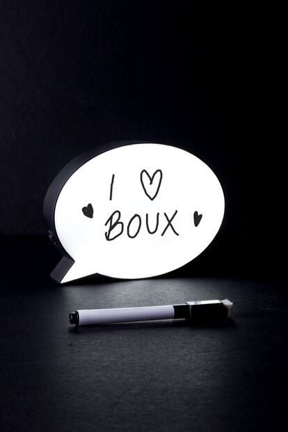 Mini speech bubble lightbox