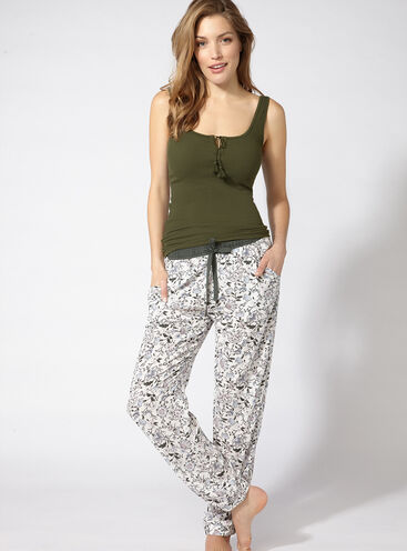 Fiesta vest and pants pyjama set