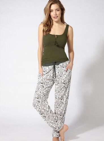 Fiesta vest and pants pyjama set