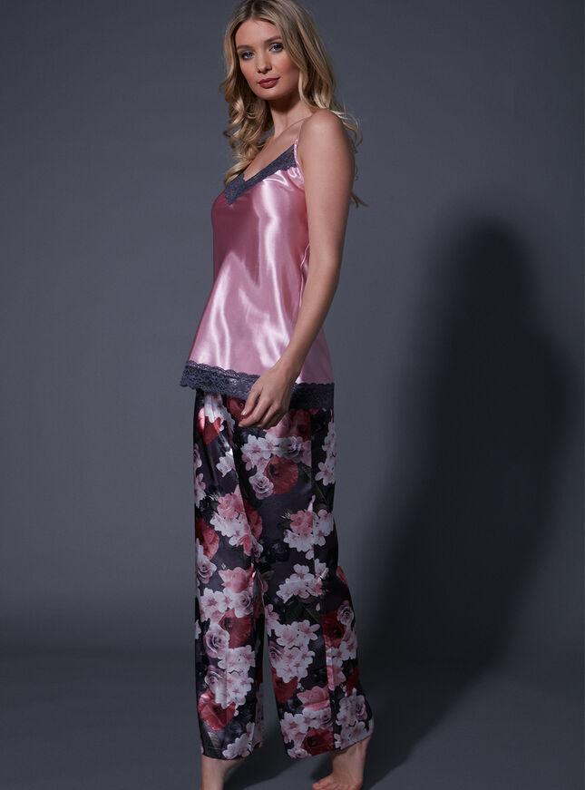 Spring floral printed pants