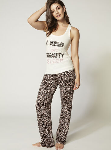 """""""I need my beauty sleep"""" pyjama set"""