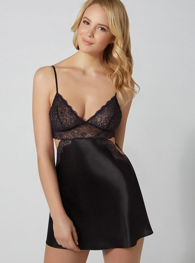 Claudia cut-out chemise
