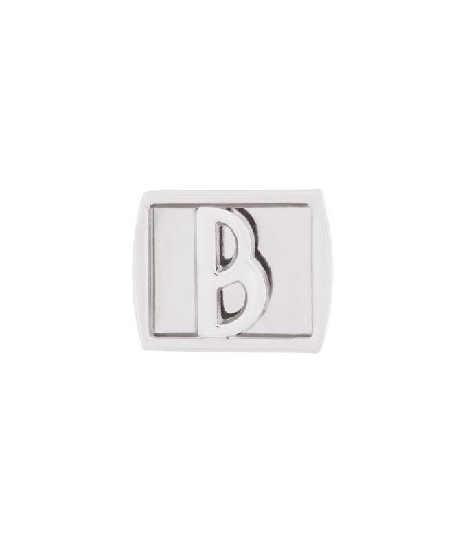 B Initial Bag Charm