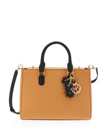 West 57th Charm Small Turnlock Satchel