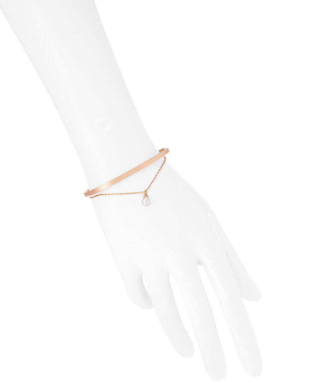 Luxe Glam Bolt Duo Cuff