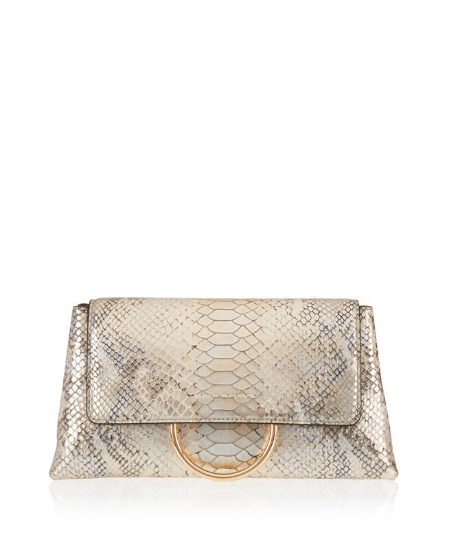 Marquis Convertible Snake Clutch