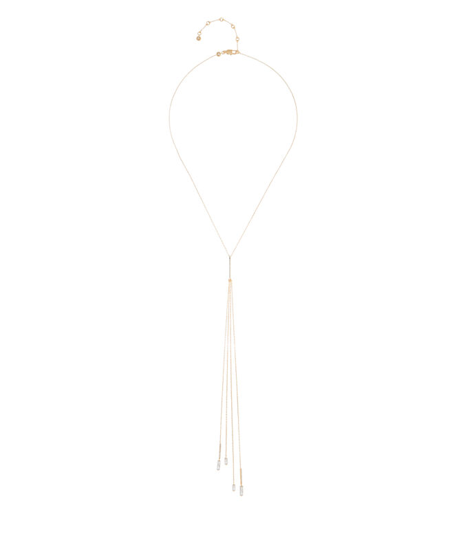 Luxe Matchstick Tassel Pendant Necklace