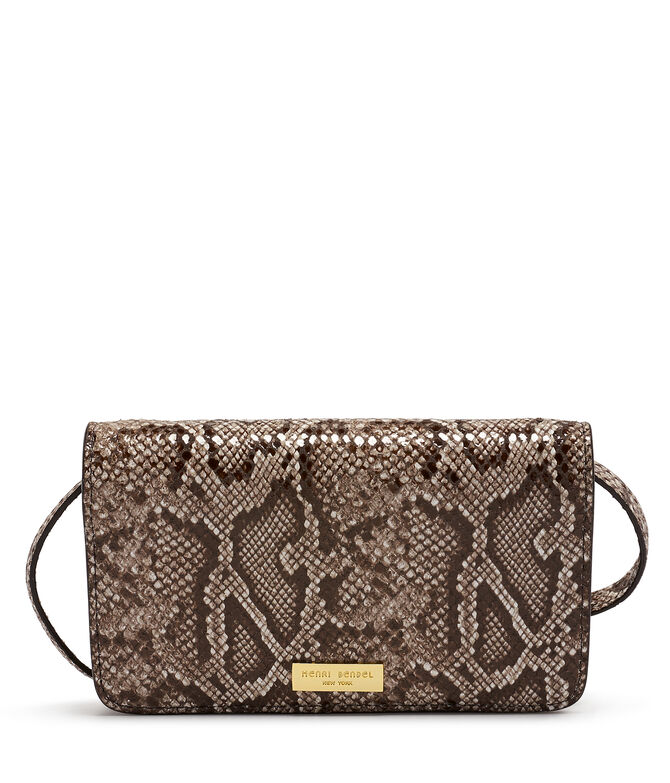 West 57th Snake Embossed XL Smartphone Crossbody