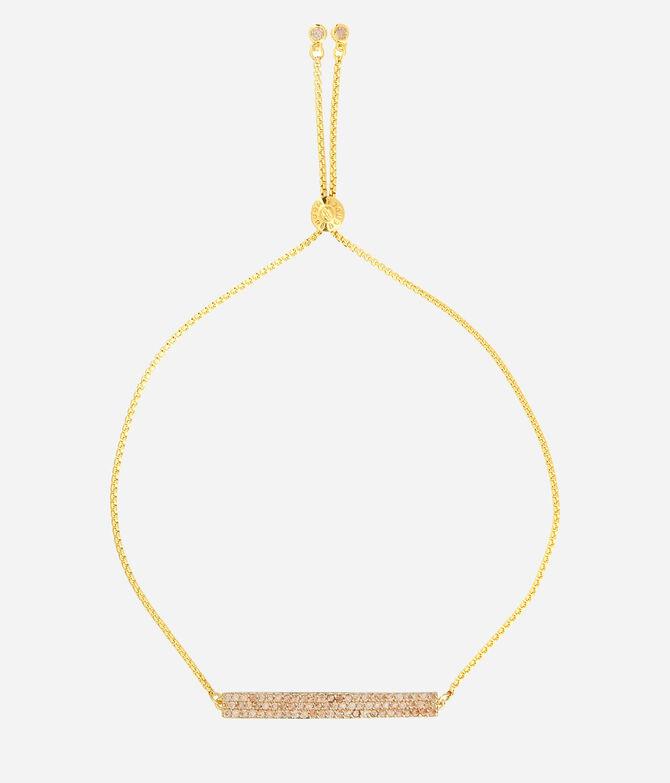Luxe Elements Joy Pave Slider Bracelet