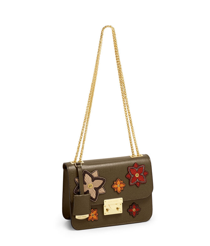 Waldorf Chain Party Bag with Patches