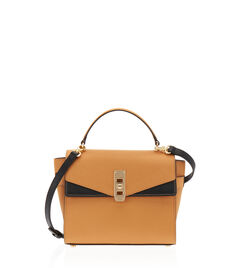 Uptown Mini Blocked Satchel