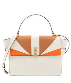 Uptown Blocked Satchel