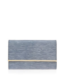 A-List Embossed Clutch