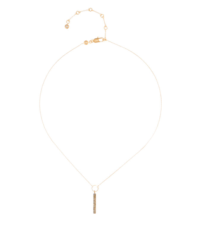 Luxe Elements Truth Pave Short Pendant