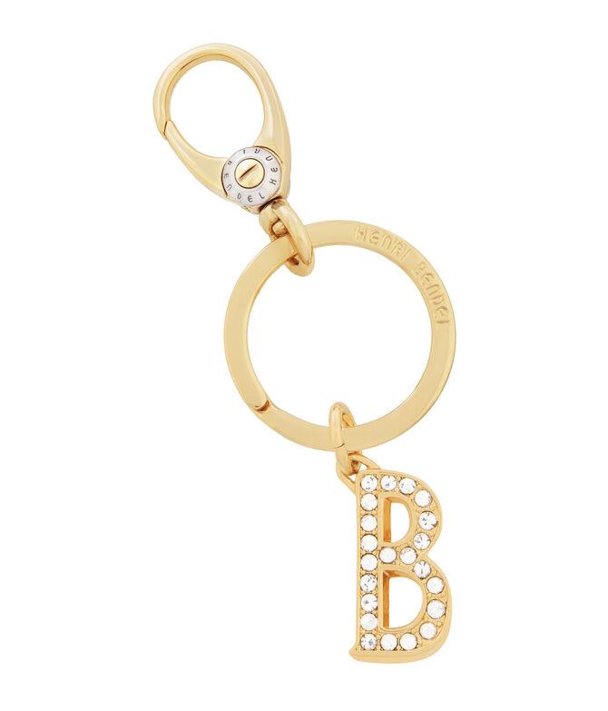Monogram B Key Fob