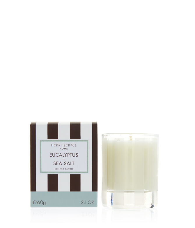 Eucalyptus & Sea Salt 2.1 oz Travel Candle