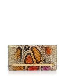 Wyatt Snake Tri-Fold Wallet