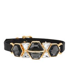 On the Rocks Leather Bracelet