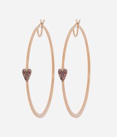 Luxe Quirky Heart Hoop