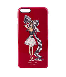 GIRL WITH BOW CASE FOR IPHONE 6/6s Plus