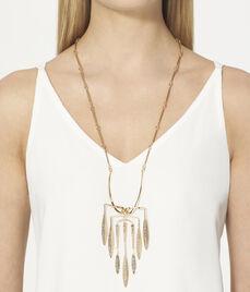 Romantic Deco Long Pendant Necklace