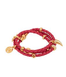 Boho Grand Triple Wrap Charm Bracelet