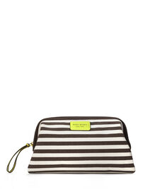 Signature Stripe Canvas Dopp Kit