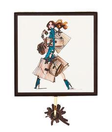Shopper Girl Small Jewelry Box