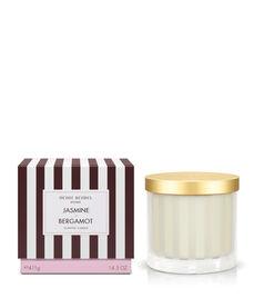 Jasmine & Bergamot Scented Candle
