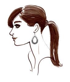 Vanderbilt Teardrop Chandelier Earrings