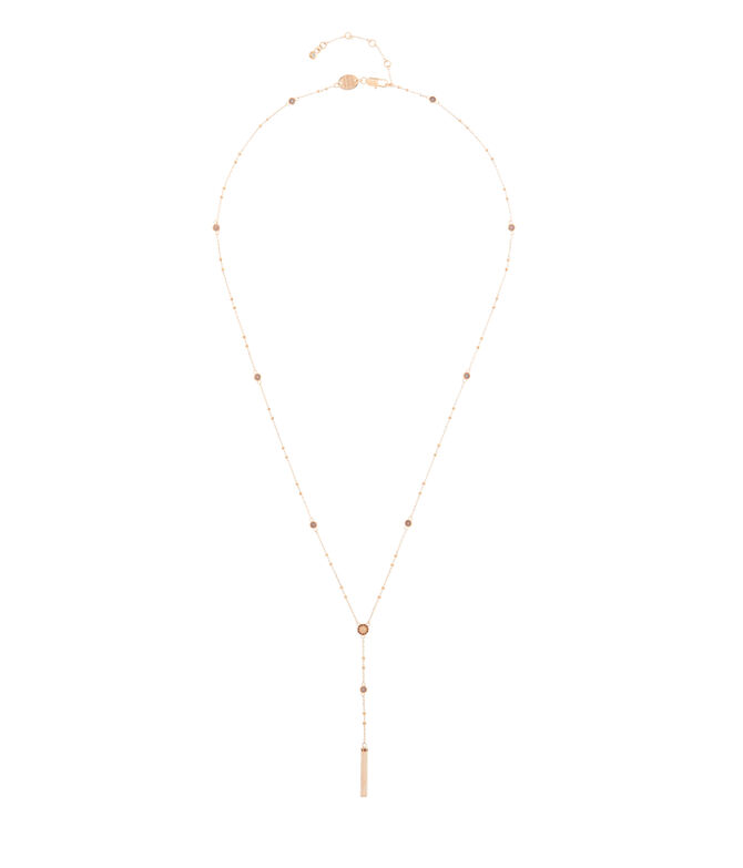 Luxe Uptown Y Necklace