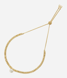 Luxe Flora Pearl Delicate Bracelet