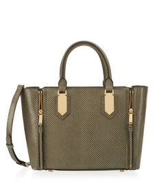 A-List Snake Satchel