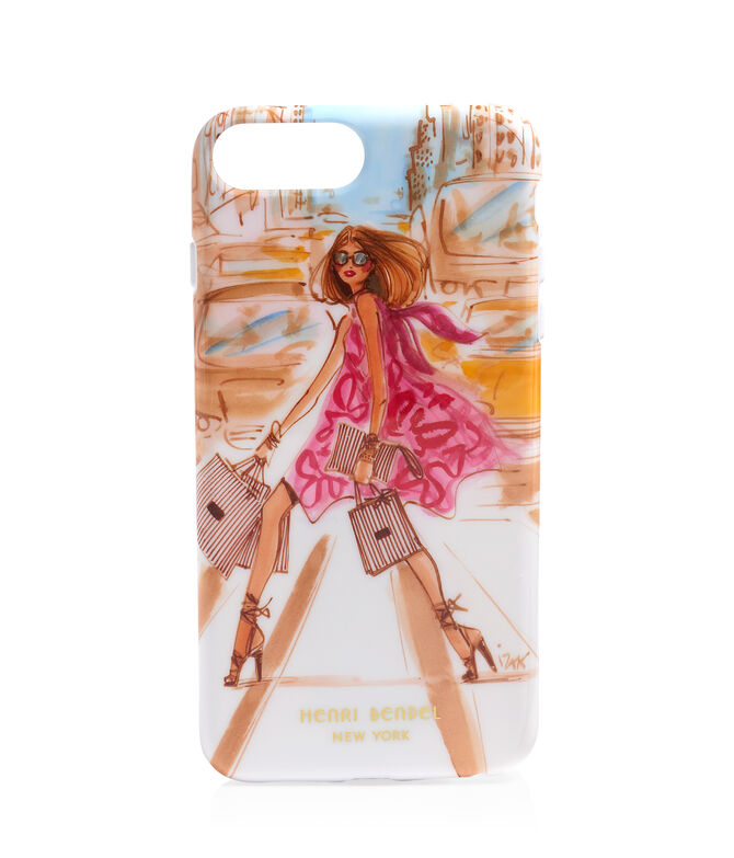 Shopping Girl Graphic Case for iPhone 6+/7+
