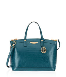 West 57th Croco Satchel