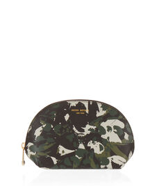West 57th Floral Camouflage Dome Cosmetic Case