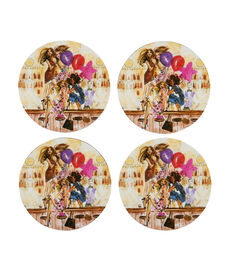 PARTY GIRLS COASTERS SET