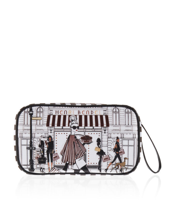 Megan Hess Bendel Girls Zip Around Jewelry Case
