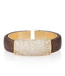 Bowery Hinged Cuff Bracelet