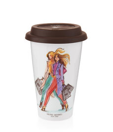 Henri Bendel Shoppers Coffee Cup