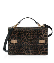 West 57th Leopard Schoolbag