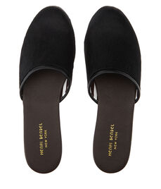 Luxe Haircalf Slippers