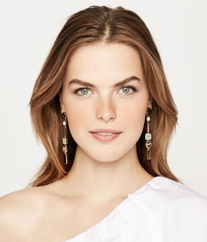 Duchess Stone Linear Earring
