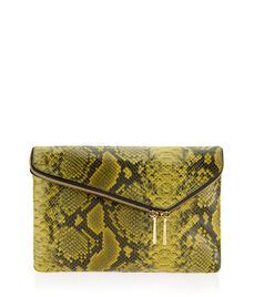 Debutante Snake Clutch
