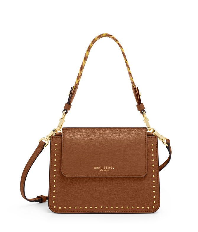 Stanton Mini Studded Crossbody with Woven Strap