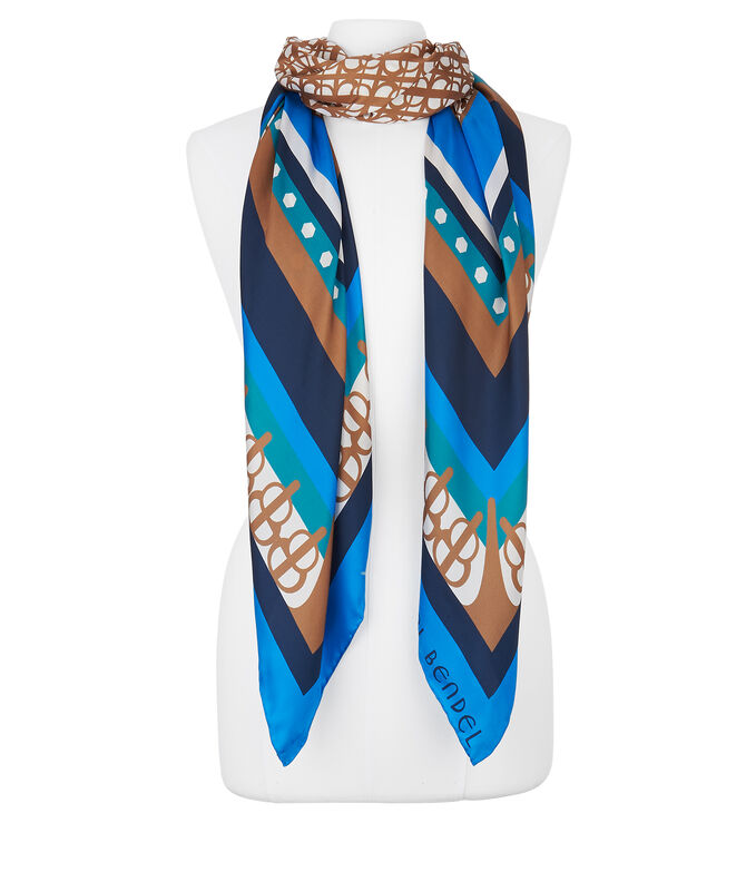 Linked Silk Scarf
